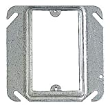 Thomas & Betts 52-C-13 Single Gang Square Box Device Cover,  4'', 1/2'' Raised (Pack of 50)