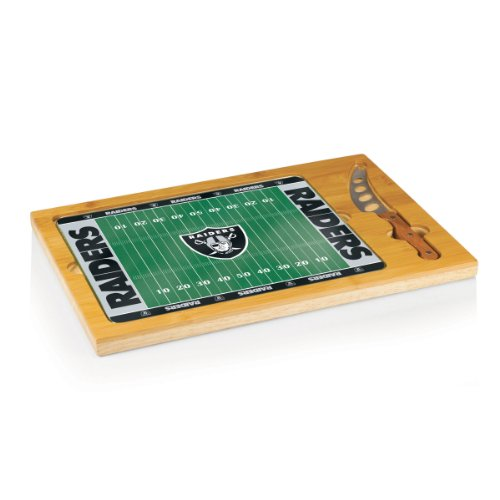 Au Jus Board (NFL Oakland Raiders 3-Piece Icon Cheese Set)