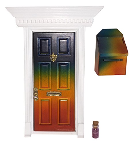 Enchanted Fairy Door (Rainbow) - Tiny Door