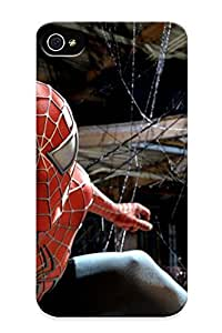 High-end Case Cover Protector For Iphone 4/4s(spider Man Reboot To Feature High Tech Uit My Entertainment World)