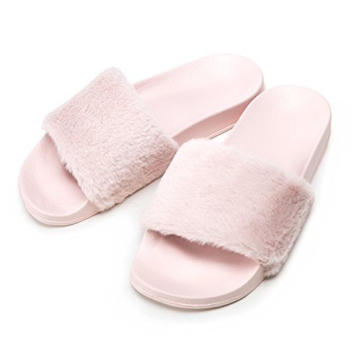 Ultra-soft and comfortable, the Women's Memory Foam Thick Cuff Slippers from Loft Living will bring luxury and style to your feet. Crafted with a flexible, non-skid construction, its temperature sensitive foam cradles your feet for a cozy feel.