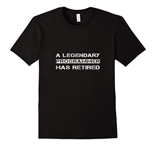 Funny Computer Programmer Coder Retirement Gift T-shirt