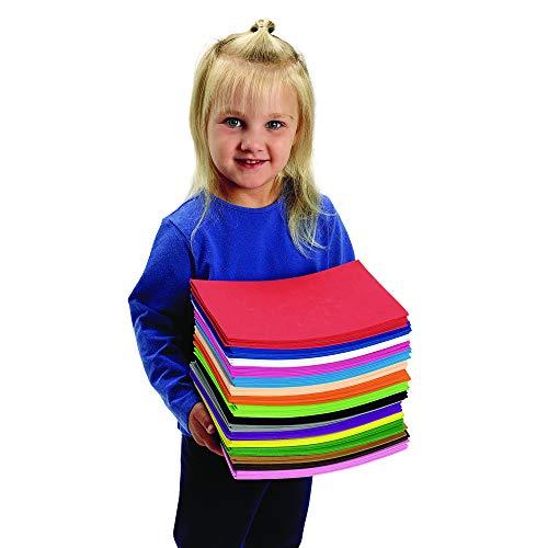 Colorations Biggy Foam Sheet Super Pack (Pack of 100)