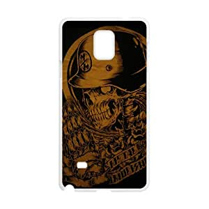 Rockband guitar legend skull Cell Phone Case for Samsung Galaxy Note4