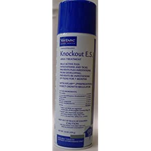 Virbac Knockout E.S. Area Treatment Carpet Spray, 16-Ounce 42