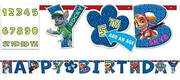 Amazon Paw Patrol Birthday Banner Toys Games