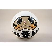Made in Japan Usaburo Sosaku Kokeshi Doll Happy Daruma White Color