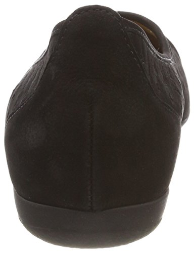 Gabor Women Ruffle 84.169.17 Scarpe Nubuck Nere