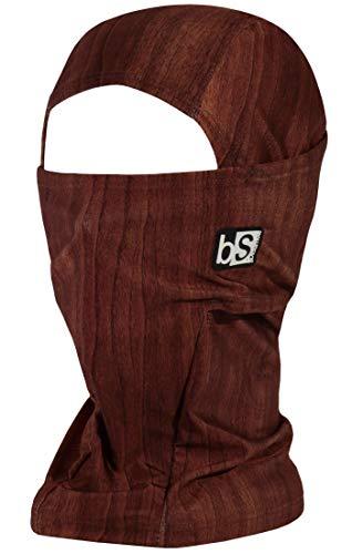 BLACKSTRAP Hood Balaclava Face Mask, Dual Layer Cold Weather Headwear for Men and Women, Wood Grain