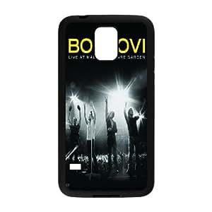 DIY Bon Jovi S5 Cover Case, Bon Jovi Personalized Phone Case for Samsung Galaxy S5 I9600 at Lzzcase