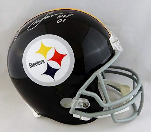 Lynn Swann Autographed F/S Pittsburgh Steelers 63-76 TB Helmet w/HOF- JSA W Auth Silver