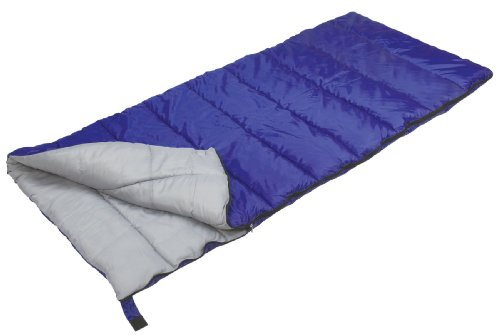 (Stansport Explorer Rectangular Sleeping Bag (Royal Blue, 40-Degree))