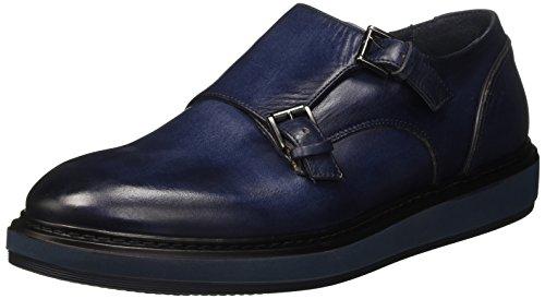 Harmont & Blaine Double Monk, Men's Low Trainers Blue (Blue 563)
