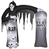Easy Set-up Archway Reaper Airblown Inflatable Halloween Decoration