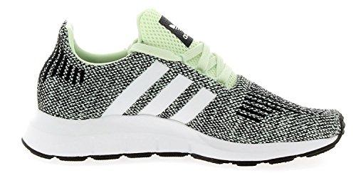 adidas Originals Swift Run J Aero Green Textile Youth Trainers Aero Green