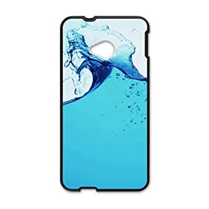 Clear Gusty Water Fashion Personalized Phone Case For HTC M7