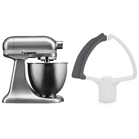 Amazon.com: KitchenAid KSM3311XCU Artisan Mini with Flex ...