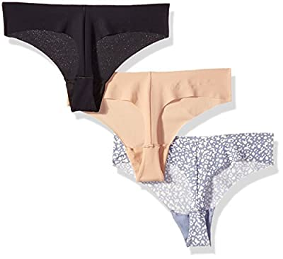 Calvin Klein Women's 3 Pack Invisibles Hipster Panty