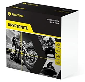 Kryptonite Kryptonite sistema de localización GPS en tiempo real la seguridad &