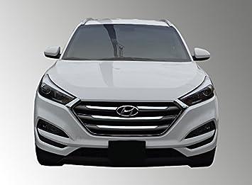 Para Hyundai Tucson se de 16 - 17/Eco/deporte - Parrilla cromada Insertar/superposición: Amazon.es: Coche y moto