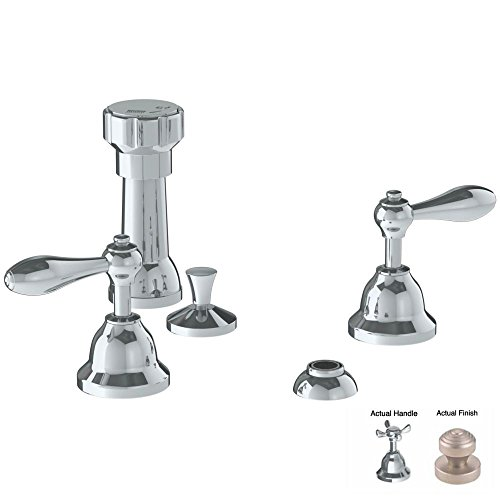 85%OFF Watermark 28-4-B5-VN Buckingham Velvet Nickel 4 Hole Bidet