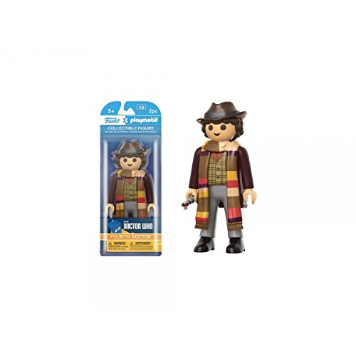 Price comparison product image Doctor Who 4th Doctor Playmobil Vinyl Figure [Funko]