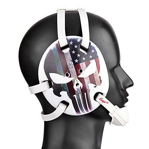 Geyi Wrestling Head Gear American Flag Thin Red Line Digital Printing Art