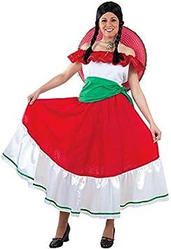 DISBACANAL Disfraz mejicana Mujer - -, M: Amazon.es: Juguetes y juegos
