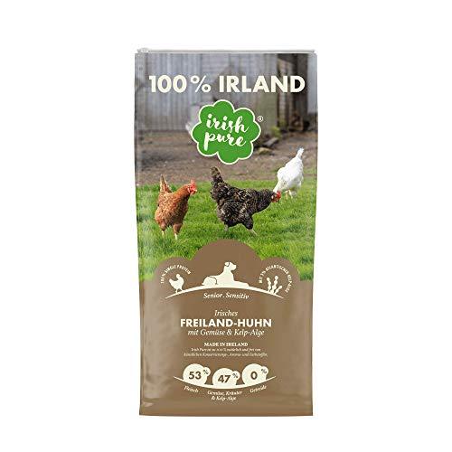Irish Pure Senior Trockenfutter für Hunde, Hoher Fleischanteil, Vitamine, Getreidefrei, Sensitiv, Hundetrockenfutter…