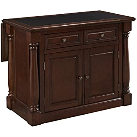 Home Styles 5007 945 Monarch Kitchen Island With Granite Top Cherry Finish