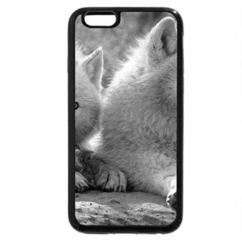 iPhone 6S Plus Case, iPhone 6 Plus Case (Black & White) - Arctic twins