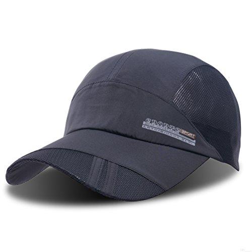 GADIEMENSS Quick Dry Sports Hat Lightweight Breathable Soft Outdoor Run Cap (Classic series, - Run Sport