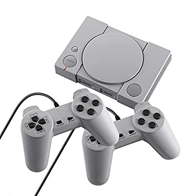 Classic Game Console 8-bit PS1 Mini Home Retro Double Battle Game Console 620 Action Game Enthusiast Entertainment System: Home & Kitchen