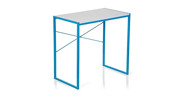 hjh OFFICE Escritorio/Mesa de Ordenador Easy UP Azul Claro ...