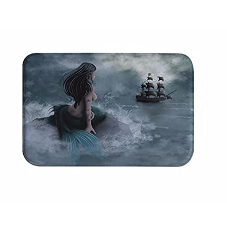 41Q7p-KjTUL._SS450_ 50+ Mermaid Themed Area Rugs