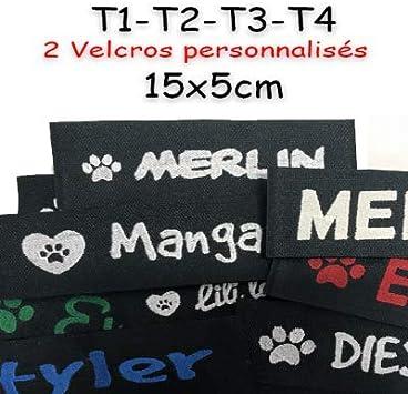 Canicaprice Velcro Personalizado Julius K9 16 x 5 cm: Amazon.es ...