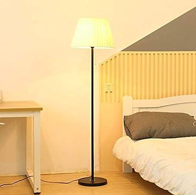 LAMP Lámparas de pie, Led Simple y creativo Dormitorio Sala de estar Estudio Mesita de noche Lámpara de pie decorativa, Luz de piso vertical que cuida los ojos: Amazon.es: Bricolaje y herramientas