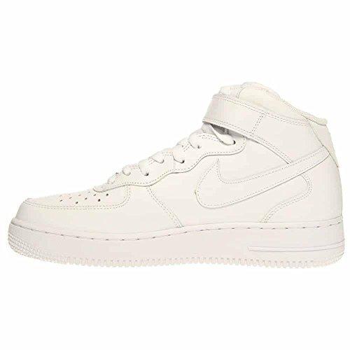 Uomo Basket Air 111 Nike 315123 White '07 Scarpe Force Mid Le 1 white Da Sx8z4