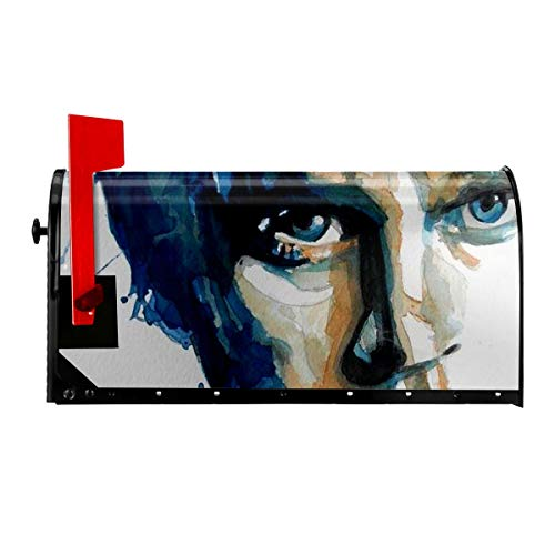 DerekAKnight Rob Thomas Magnetic Mailbox Cover Wraps Letter Post Box Outdoor Decor 21