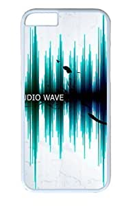 Audio Wave18 Polycarbonate Hard Case Cover for iphone 6 plus 5.5 inch White in GUO Shop