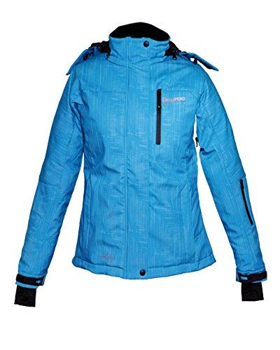 Chaqueta Esquí Mujer Softshell Para Active Y Invierno De Azul Deproc F58gqwaX