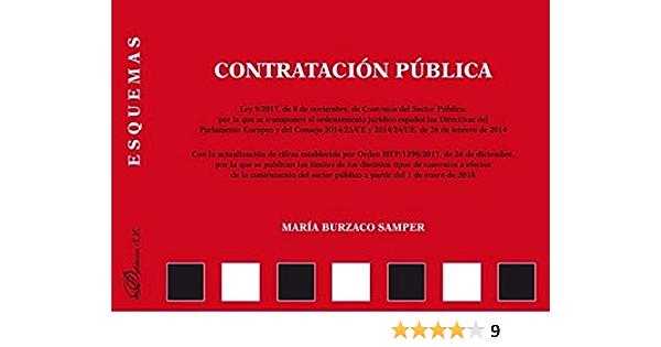 Contratación Pública Esquemas Amazon Es Burzaco Samper María Libros