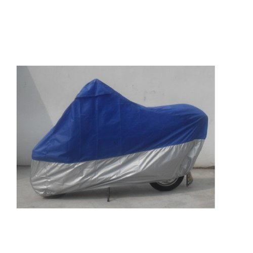 Docooler Motorcycle Bike Moped Scooter Cover Waterproof Rain UV Dust Prevention Dustproof Covering (XL(Blue))