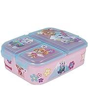 PATRULLA CANINA Skye Everest broodtrommel met 3 vakken voor kinderen - lunchbox voor kinderen - snackbox - decoratieve lunchbox