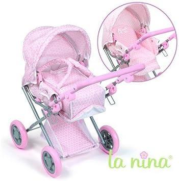 Cochecito para muñecas de La Nina Diset