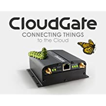 Option CloudGate M2M LTE Wireless Gateway Modem with Ethernet - GSM/CDMA - Include DC Power Cable - No Antennas Included