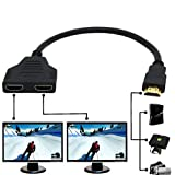 Best HDMI Splitter For HDTVs - 1080P HDMI Port HDMI Splitter Cable 1 Male Review