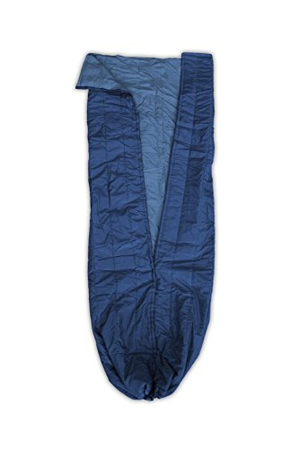 ENO - Eagles Nest Outfitters Spark TopQuilt, Ultralight Camping Quilt, Navy/Royal