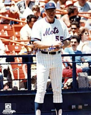 Autographed Frank Howard Photo - 8x10 New York Mets - Autographed MLB Photos