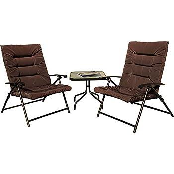 Amazon Com Kozyard Elsa 3 Pieces Outdoor Patio Furniture